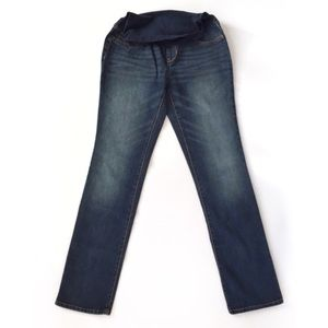 BRAND NEW Indigo Blue straight leg maternity jeans